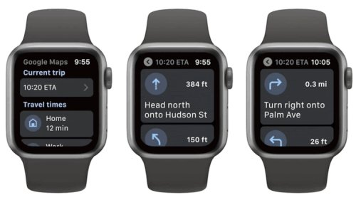 Google Maps Returns to Apple Watch After 3-Year Absence