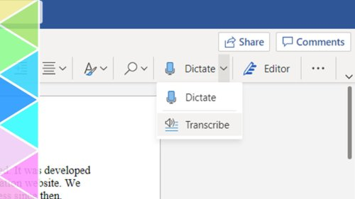 Save Time With Microsoft Word's Built-In Transcription Feature