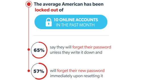 Average US Internet User Is Locked Out of 10 Accounts Per Month