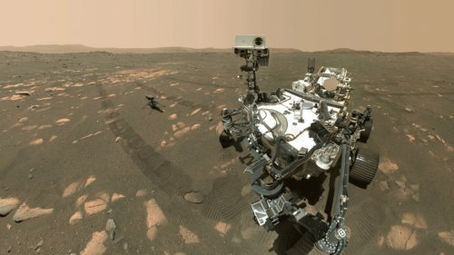 Perseverance Rover Takes a Selfie With the Ingenuity Drone on Mars