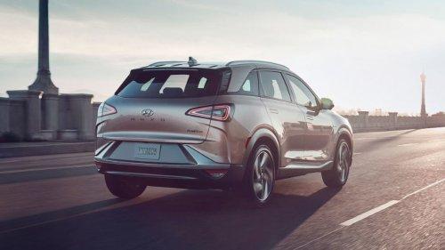 Hydrogen-Powered Hyundai Nexo SUV Breaks World Record