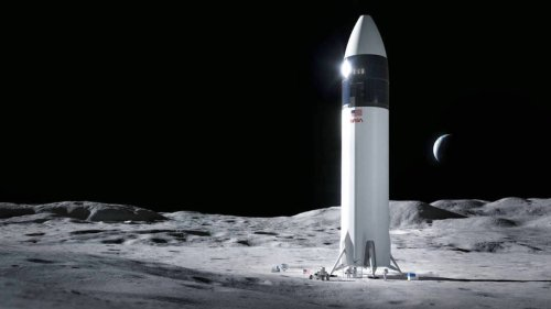 NASA Tells SpaceX to Stop Working on Artemis Lunar Lander