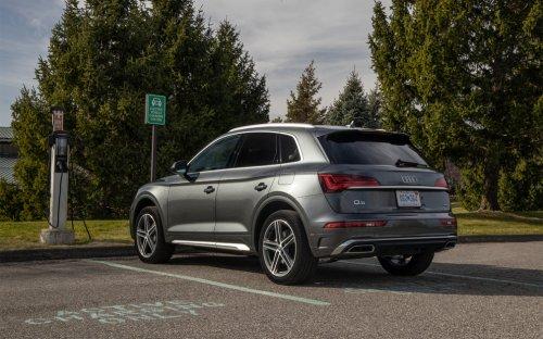 2021 Audi Q5 55 TFSI E Quattro Review