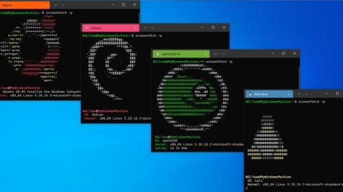 Windows Subsystem for Linux Heads to the Microsoft Store