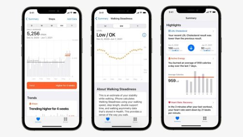 iOS 15 Will Let You Share Health Data With Family, Doctors