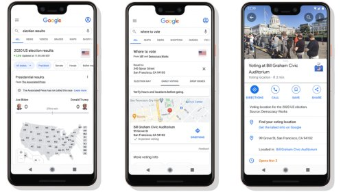 Google to Offer Real-Time US Election Results in 70 Languages