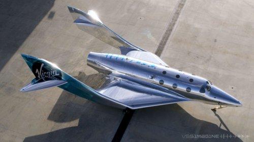 Virgin Galactic Reveals Third-Generation VSS Imagine Spaceship