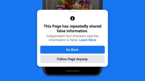 Facebook Cracks Down on People, Pages Repeatedly Sharing Misinformation