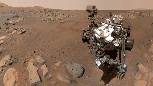 Perseverance Rover Snaps a Martian Selfie