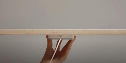 Ladepad lädt Smartphones durch Tisch - Ikea macht's möglich