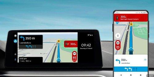 Kostenlose Navi-App Tomtom Ami Go für Android Auto