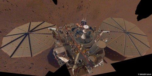 Stärkste Beben auf dem Mars - Strommangel bedrohte Messung