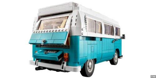 Bausatz: Volkswagen T2 Camper von Lego