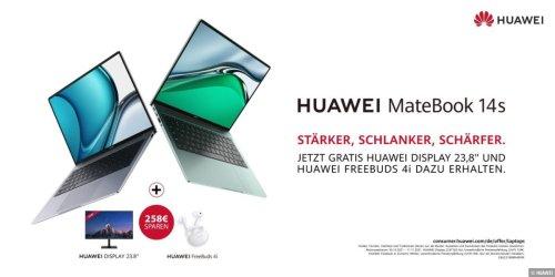 Neue HUAWEI MateBooks jetzt 258 Euro günstiger