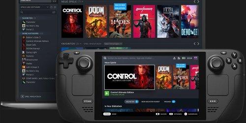 Steam Deck: Grüne Haken zeigen kompatible Spiele
