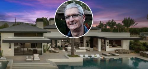 A peek inside Tim Cook's $10 million SoCal mansion   Philip Elmer‑DeWitt