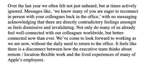 Here's the letter Apple employees sent Tim Cook   Philip Elmer‑DeWitt