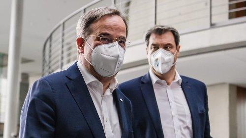 Laschet gegen Söder: K-Frage wird zum offenen Machtkampf