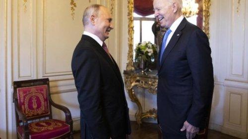 Biden und Putin: So lief das Treffen der beiden