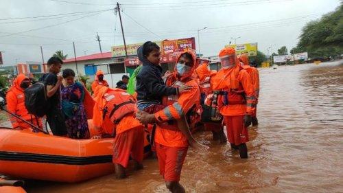 Mindestens 100 Tote nach Monsunregen in Indien