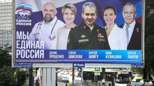 Wahl ohne Putin-Gegner - Russen wählen neue Staatsduma