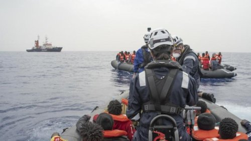 Weitere Flüchtlinge im Mittelmeer gerettet