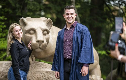 Penn State's in-person commencement at Beaver Stadium provides a 'full memory' for graduates