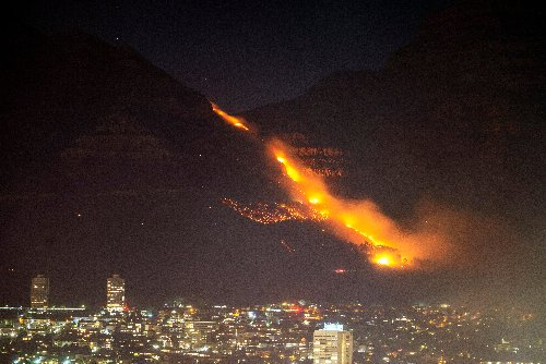 Wildfire in Cape Town contained after destroying 11 buildings, 'priceless' rare books