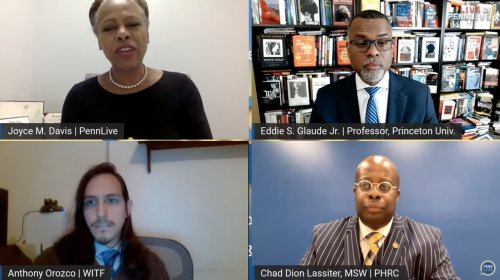 A provocative conversation on racism and a challenge to commit to peace and justice