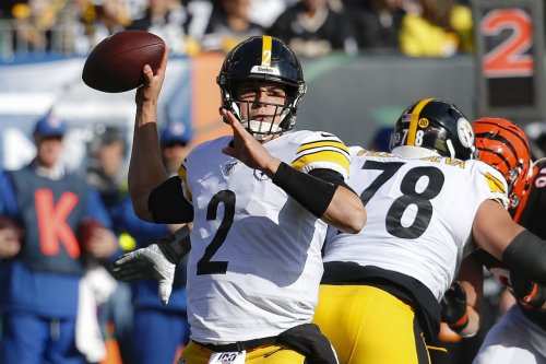 Mason Rudolph just a snap away from being Steelers' starting QB for foreseeable future