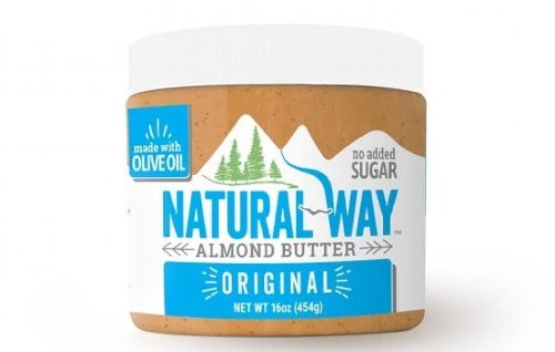 Natural Way Almond Butter recalled because the jar may contain peanut butter