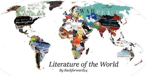 O mapa literário do mundo: os romances mais representativos de cada país