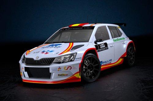 Pepe López da el salto al Mundial de Rallyes con un Skoda Fabia