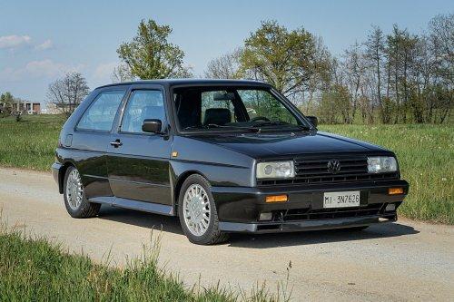 A subasta este Volkswagen Golf Rallye G60 de 1989