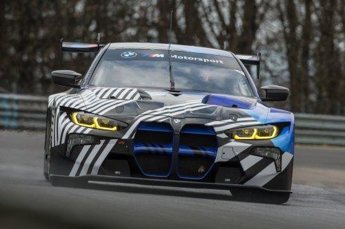 El nuevo BMW M4 GT3 2021 se prueba con éxito en Nürburgring