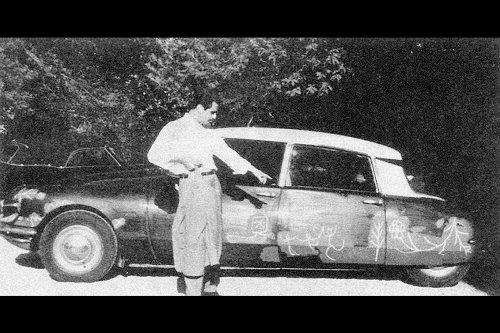 El día que Pablo Picasso pintó sobre la carrocería de un DS19