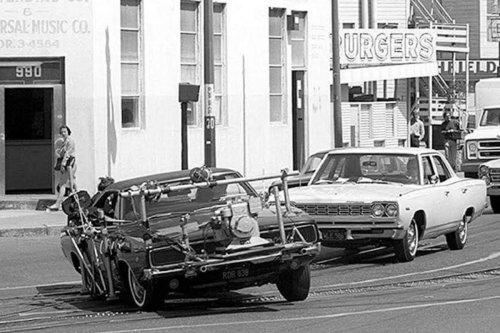 Vídeo: así ha evolucionado el rodaje de las persecuciones de coches en el cine