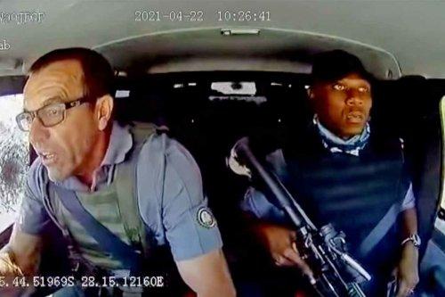 Vídeo: asalto y huida de película de acción a un furgón blindado