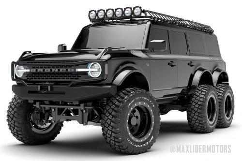 El Ford Bronco 6×6 cuesta casi 340.000 euros
