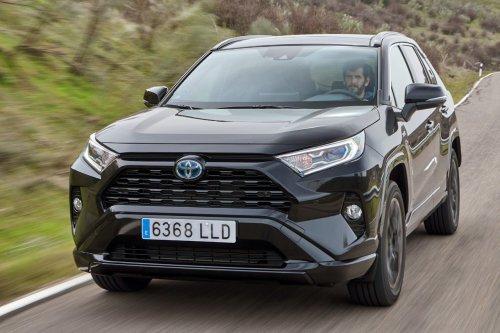 PRUEBA: Toyota RAV4 Electric Hybrid Black Edition - Periodismo del Motor