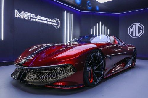 MG Cyberster Concept Car: así es la propuesta de un superdeportivo por cortesía de MG