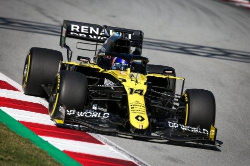 Fernando Alonso se pone a los mandos del Fórmula 1 de Renault