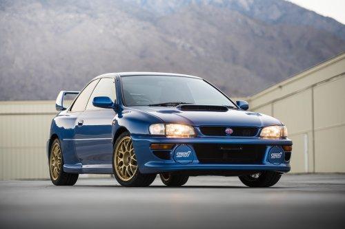 A subasta este impecable Subaru Impreza 22B STi de 1998