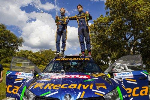 Rallye Sierra Morena 2021: victoria de 'Cohete', que comienza dominando