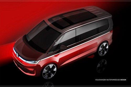 Un boceto muestra cómo será la nueva Volkswagen Multivan