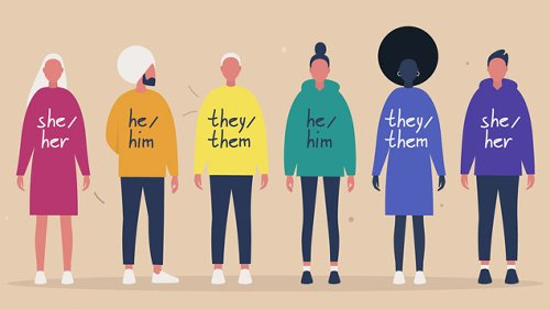 Gender identity: How to be more inclusive when using pronouns