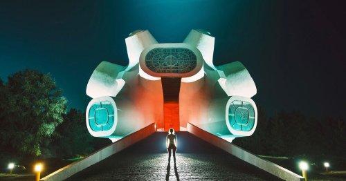 Photographer Turns Abandoned Monuments into Futuristic Art