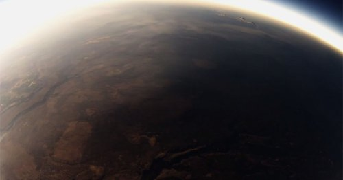 Camera on Balloon Captures the Total Solar Eclipse from Near Space | PetaPixel