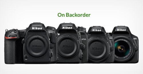 Nikon DX DSLRs and Lenses Disappearing or Not Being Restocked