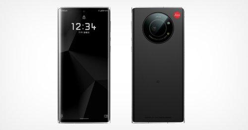 Leica Unveils the Leitz Phone 1: 1-Inch Sensor, B&W UI, and Lens Cap